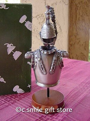 Pewter Replica *ARMOR & HELMET: BELGIUM 1715-1786* Beautiful Quality Gift Boxed