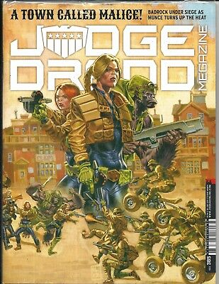 Judge Dredd Megazine # 385 (Sealed With Supplement, 18 July 2017), New