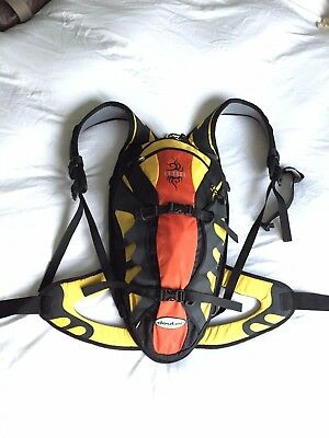 Deuter Attack mountain biking backpack with integral back protection, never used