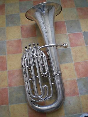 Euphonium  4 valve by H White King U.S.A.