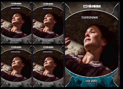 Topps The Walking Dead Card Trader TRAGEDIES LORI GRIMES Blue & Gray Digital