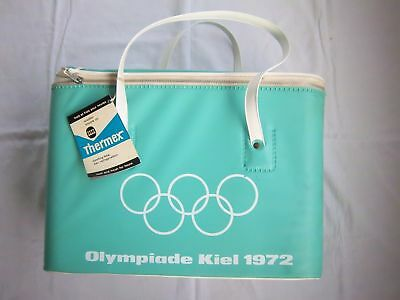 Orig.bag / cool Bag  Olympic Games MÜNCHEN 1972 - Sayling in Kiel / 42 cm ! RARE