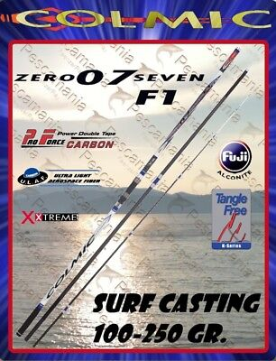 Fishing rod Colmic zero seven F1 07 surf casting 100-250 gr ground commuter