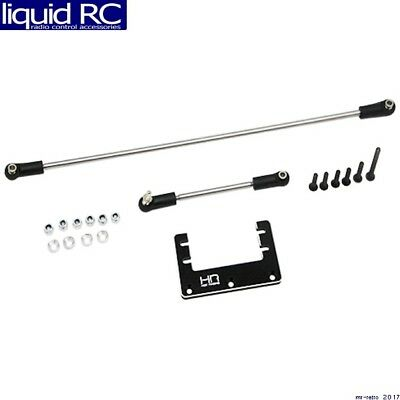 Hot Racing KMF24M01 Aluminum Steering Mount with rod Upgrade - Foxx VE Mad force