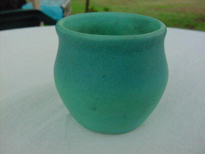 Early Turquois Blue Van Briggle Small Pot