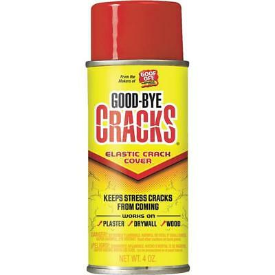 Goof Off Good-Bye Cracks Plaster / Wood / Drywall Repair Spray 4 OZ FG695