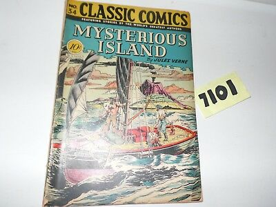 Classics Illustrated Classic Comics #34 HRN 35 Photos of the Actual book!