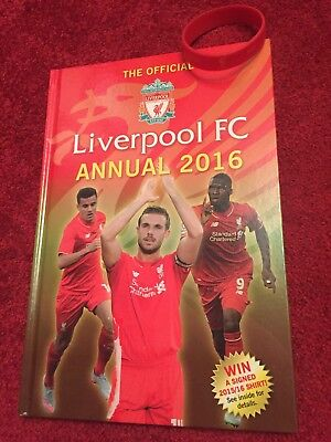 Liverpool FC 2016 Annual With Wristband