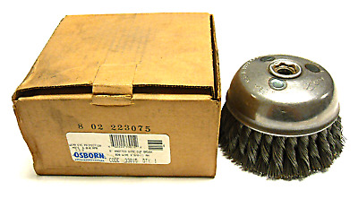 New Osborn 33015 6'' Knotted Wire Cup Brush
