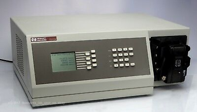 HP 7510A Color film recorder WORKING ultra rare collectible with a 35mm camera