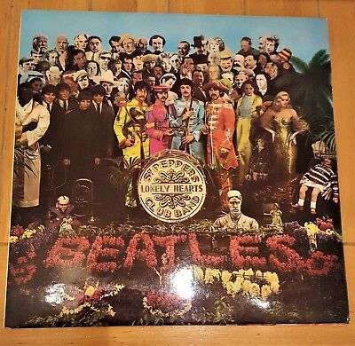 Sgt. Peppers Lonely hearts club band - The Beatles 1967 LP Record-Mint Sleeve