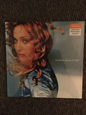 Madonna ' Ray of Light ' Sealed Limited  Edition Blue Double Vinyl Album