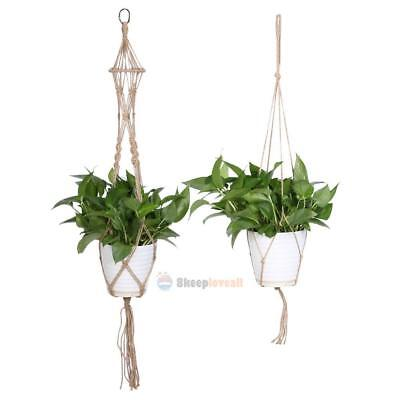 Macrame Plant Hanger Flowerpot Holder Gardenpot Lifting Hoder Rope Home Decor