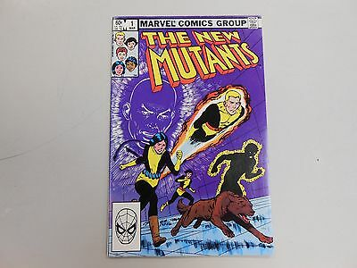 The New Mutants #1 Mar 1983, Marvel! VF 8.5+ KEY ISSUE! End of the Bronze Age!