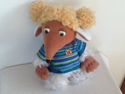 """Retro Wombles First Love Alderney Plush Soft Toy Doll 10"""" Tall 1998 Ex. Cond."""