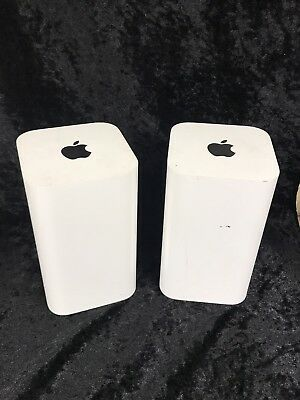 2 x Apple AirPort Extreme Wireless AC Router (A1521) in good used condition