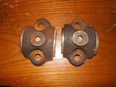 Original 1 3/4Hp Nelson Brothers Bearing Caps Hit & Miss Gas Engine Farm L@@k!!!