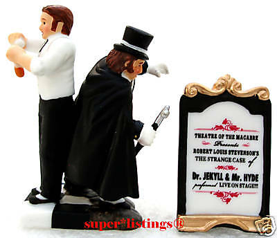 Dept. 56 The Strange Case Of Dr. Jekyll & Mr. Hyde Dickens 58573 Free Shipping