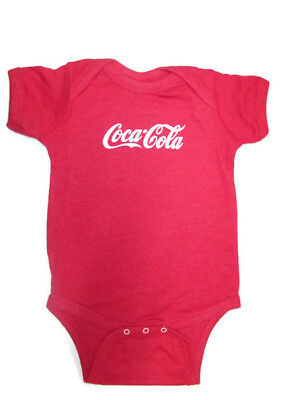 Coca-Cola Infant Body Suit  Heather Red 18 month  - BRAND NEW