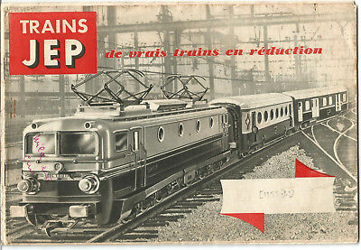 Catalogue Jouets JEP 1952-1953. 12 pages.