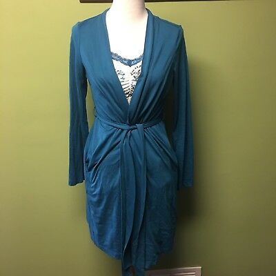 Motherhood Maternity Bump In The Night Nursing Gown And Robe Set Sz S