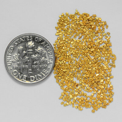 0.5729 Gram Alaskan Natural Gold Nuggets - (#21008) - Hand-Picked Quality