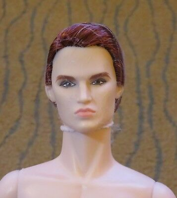 2017 Convention Fashion Royalty Fairytale Homme Doll Nude Caucasian Redhead