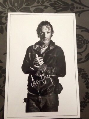 Rick The Walking Dead Pre Printed Photo