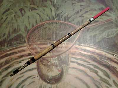 Traditional Hand Made Vintage Style Stepped Norfolk Reed Waggler Fishing Float