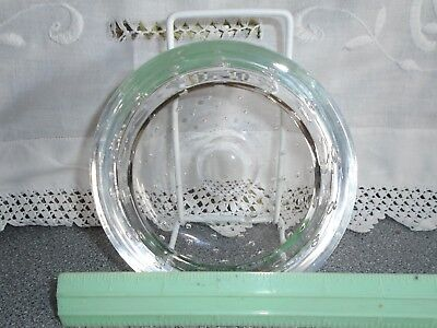 """Whitefriars Bubble Glass Dish 5"""" Diameter Approx"""