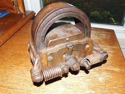 Very Nice Hot Two Bar Brass Webster Magneto Hit & Miss Gas Engine L@@k!!!