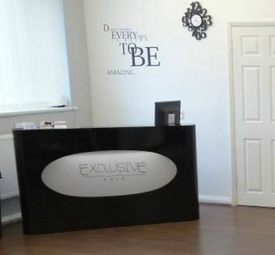 Used Reception Desk , Salon Beauty Hair Dressers Furniture