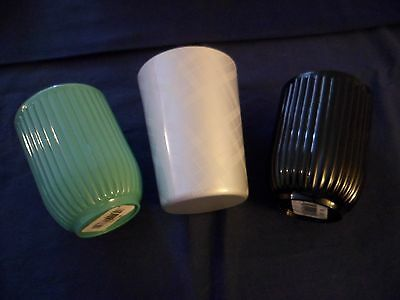 Bathroom Short Tumbler Rinse Cup Brush Holder Choose Color New No More Waste
