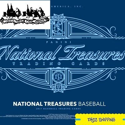 Los Angeles Dodgers 2017 National Treasures Baseball 1/4 Case 1Box Break New