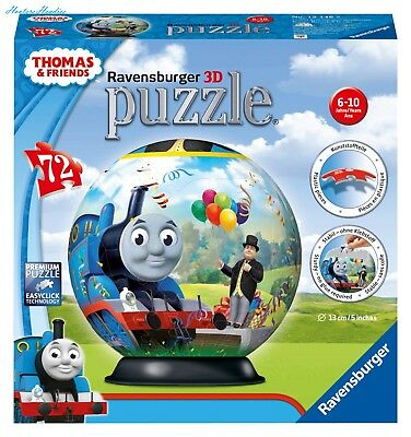 Thomas Friends Birthday Surprise 3D Puzzle, 72-Piece