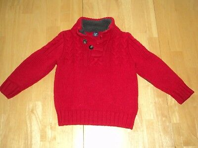 Baby Gap Sweater Boys 2T Baby Gap 2T Boys Sweater Toddler Sweater Red Gap 2T