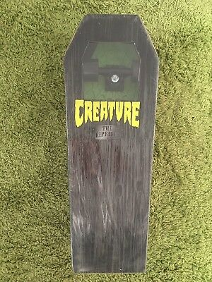 Creature Rip Rider Complete 2009, New In Box, Coffin Shape, Oj Wheels Halloween
