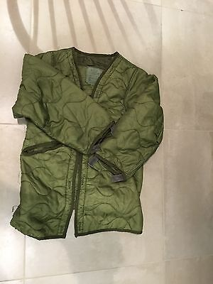fishtail parka, night desert,liner ,used good SMALL,1984