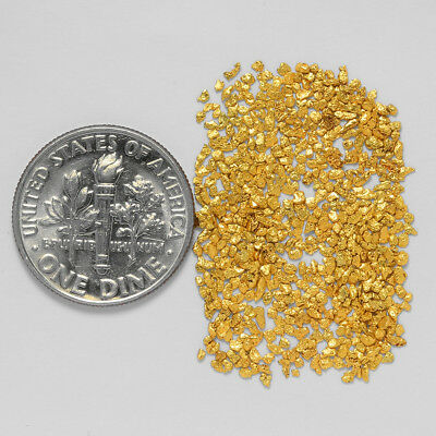 0.6698 Gram Alaskan Natural Gold Nuggets - (#21014) - Hand-Picked Quality