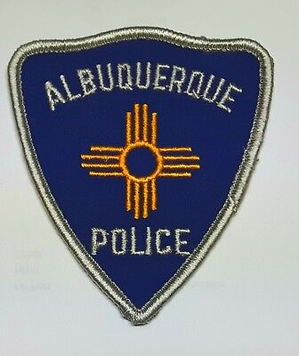 Old Albuquerque New Mexico Police patch