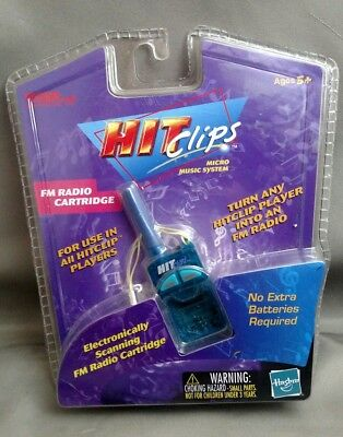 Hasbro Tiger HitClips HIT CLIPS FM RADIO CARTRIDGE New in Package Free S/H