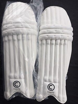 County 747 Batting Pads Cricket Mens Right Handed Leg Guard RH
