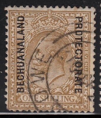 Bechuanaland Protectorate 1913 KGV 1 shilling bistre, used