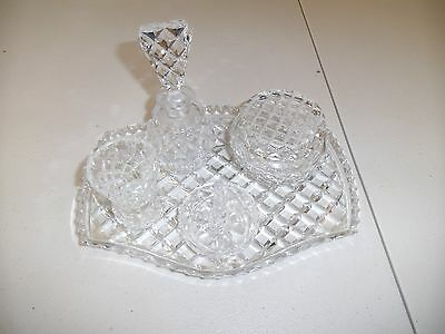 7 piece Crystal Dressing Table Set