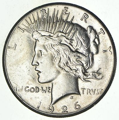 Early - 1926 - Peace Silver Dollar - 90% US Coin *153