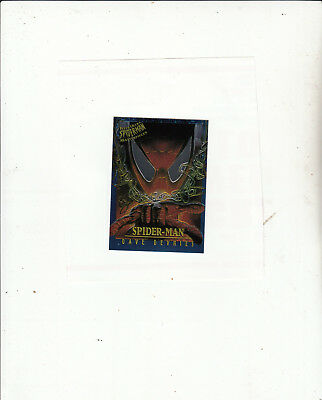 Fleer Ultra Spider-Man-[Chromium Masterpieces 4 of 9 ]-1995 Marvel-Lot 2-Cards