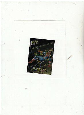 Fleer Ultra Spider-Man-[Chromium Masterpieces 5 of 9 ]-1995 Marvel-Lot 3-Cards