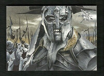 The Hobbit The Battle of the Five Armies 1/1 Fine Art Sketch by ???