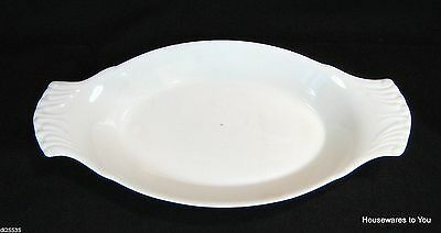Lord Nelson Whiteware Oval Au Gratin Baker Baking Dish Elijah Cotton England