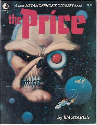 The Price #1 (1981 Eclipse) Jim Starlin Early Dreadstar Htf!!!!